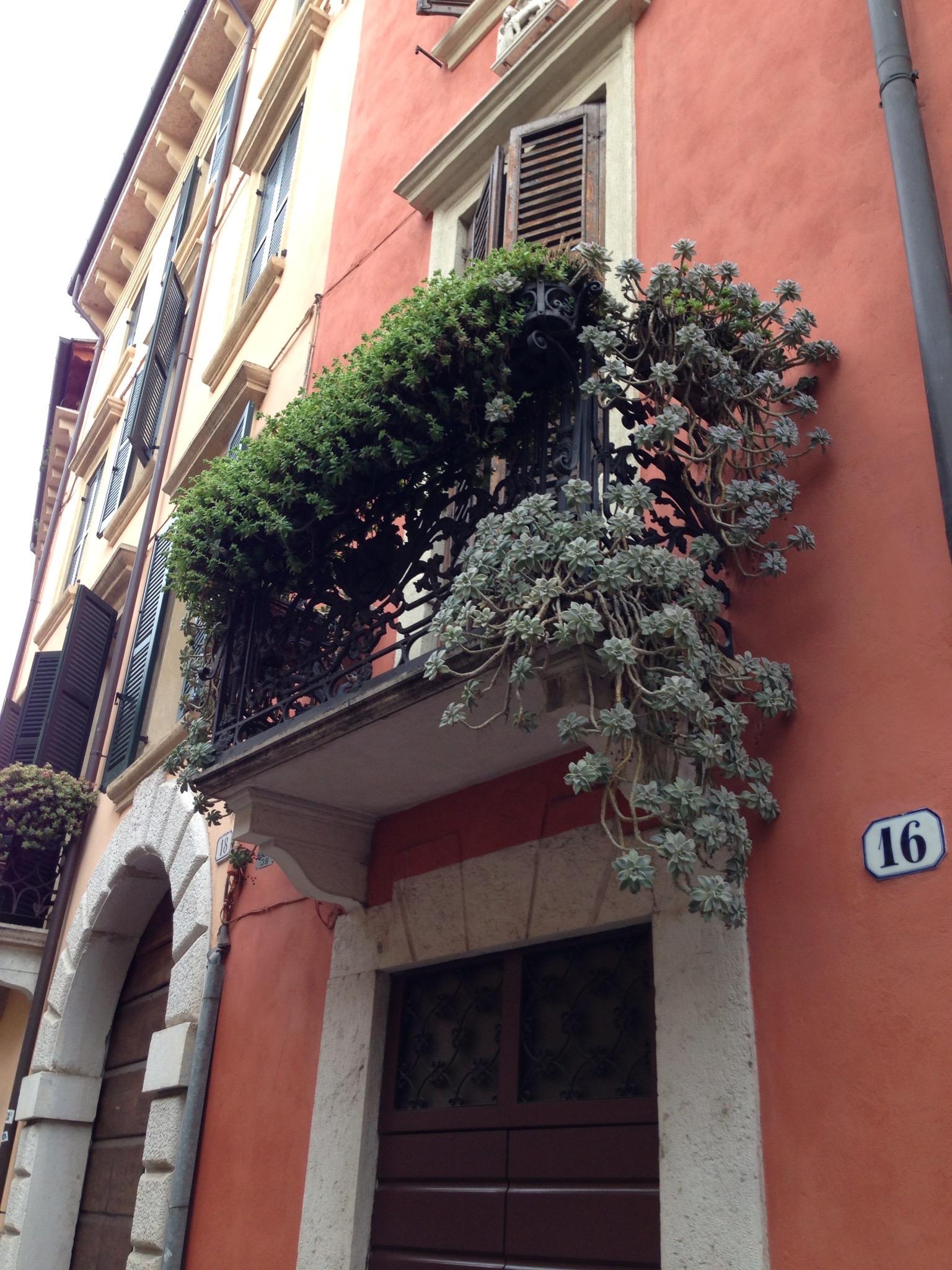 balkong i Cortona