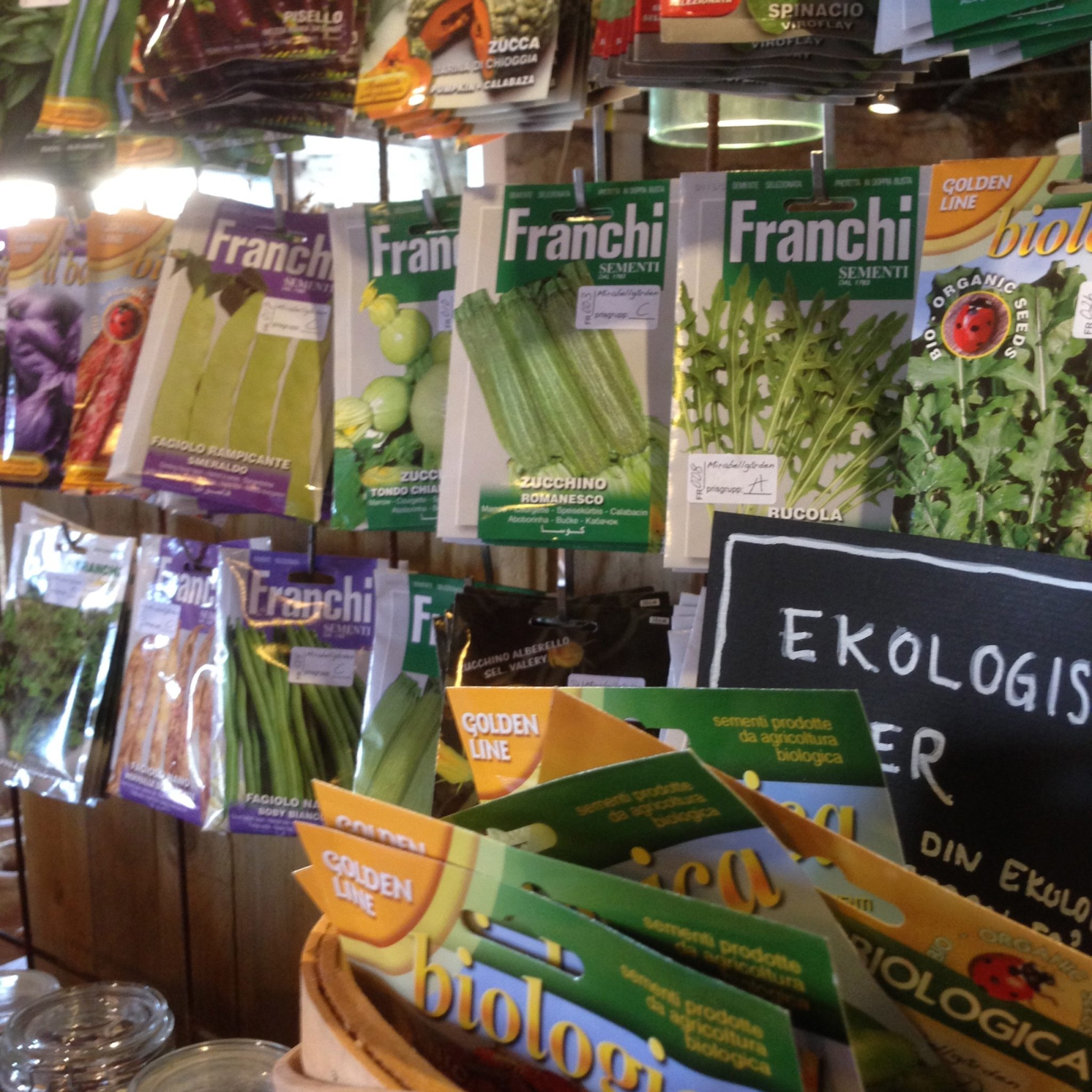 Italienska grönsaksfröer